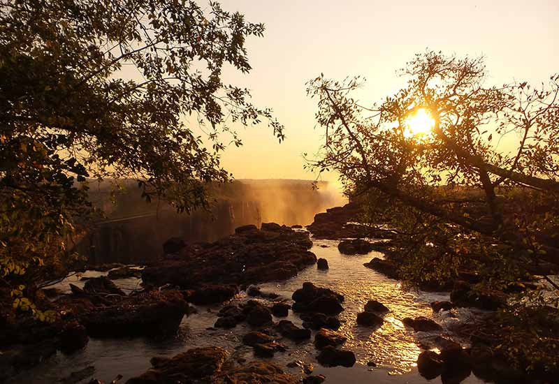 About Image from the top of Victoria Falls